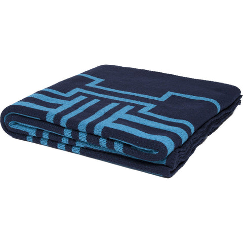 Stacy Garcia Illusions Eco Throw | Marine/Teal- SG-IL02