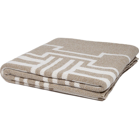 Stacy Garcia Illusions Eco Throw | Marled Oatmeal/Milk- SG-IL03