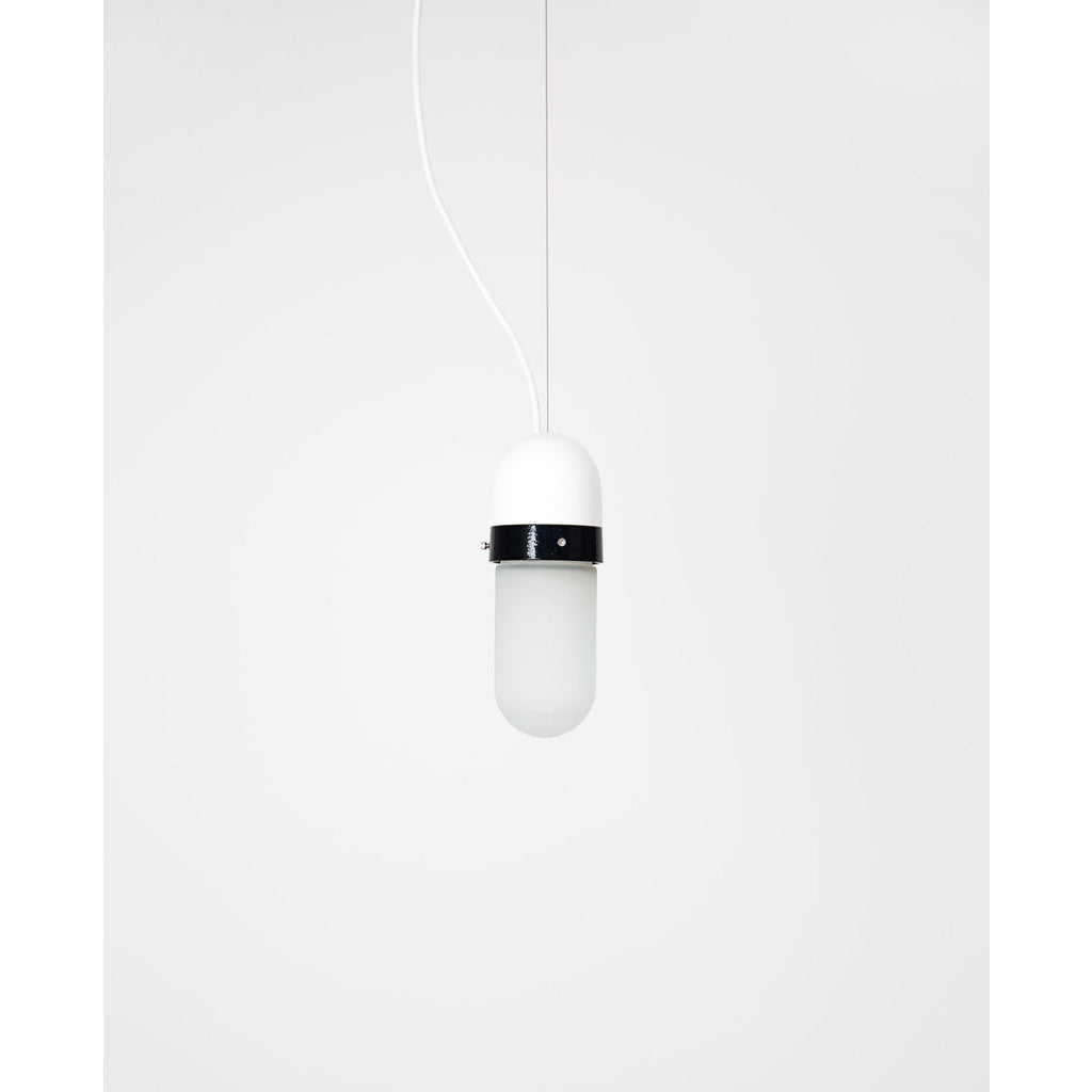 Object Interface Well Light Pill | White/Black WL1-WB