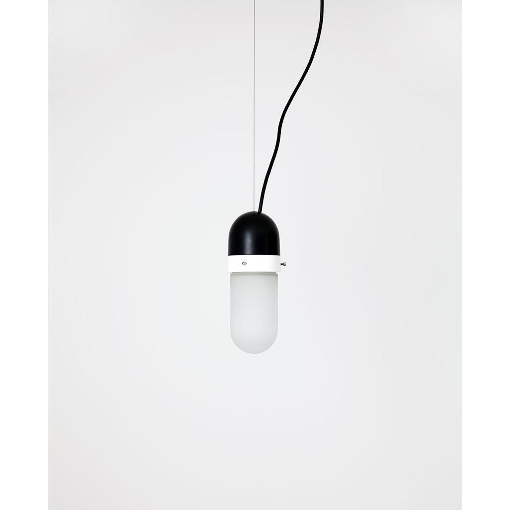 Object Interface Well Light Pill | Black/White WL1-BW