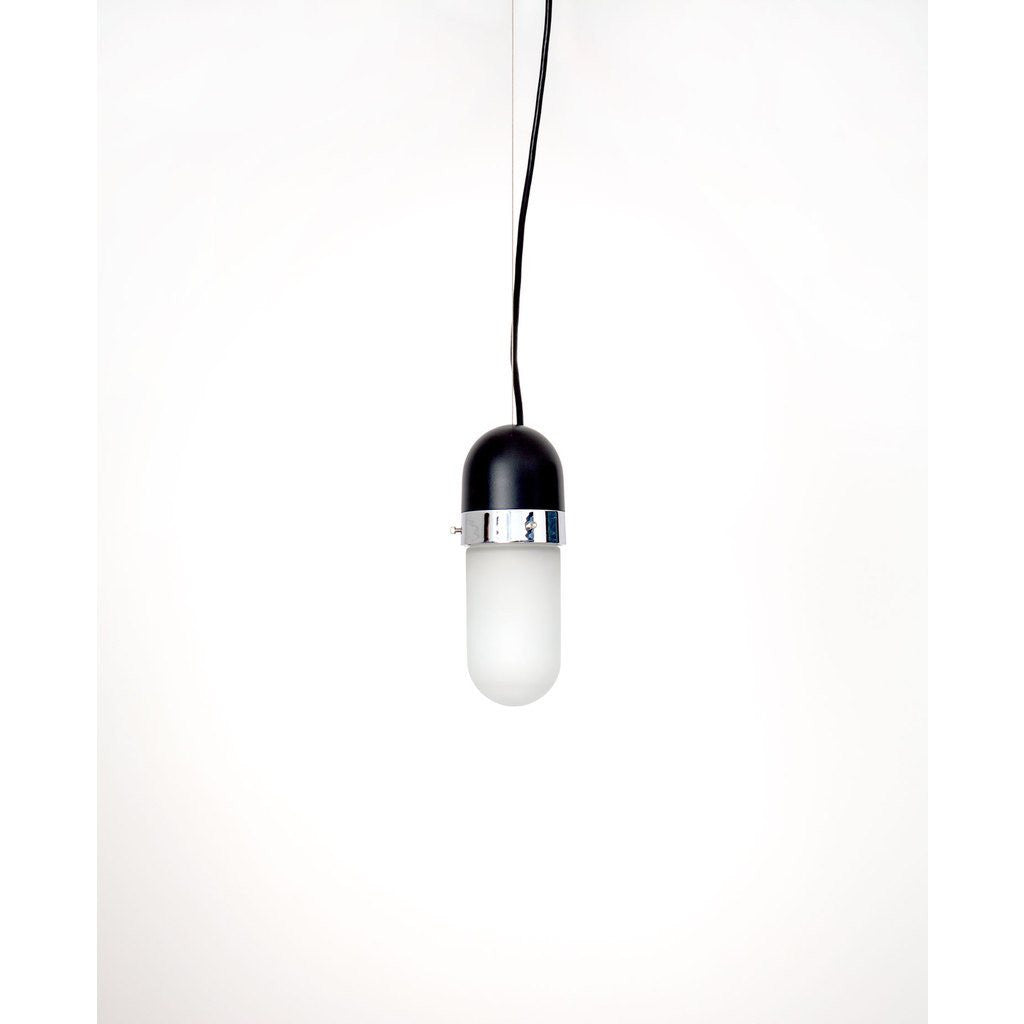 Object Interface Well Light Pill | Black/Chrome WL1-BCh