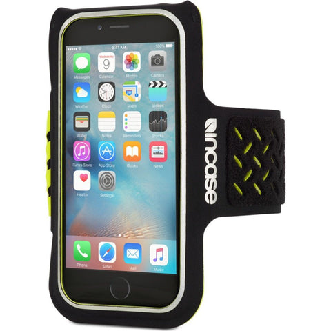 Incase iPhone 6/6s Sports Armband | Black/Neon Yellow CL69430