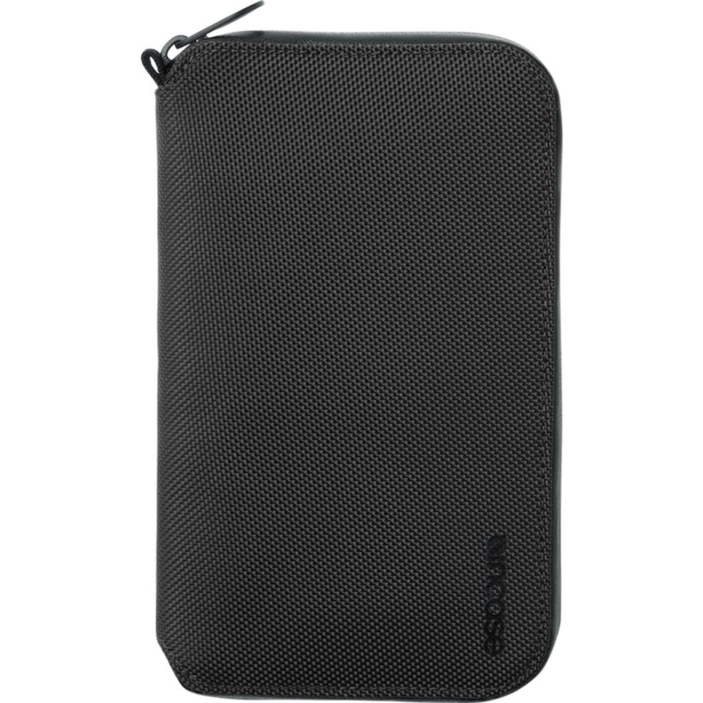 Incase Travel Passport Zip Wallet | Nylon =Black  INTR40053-BLK