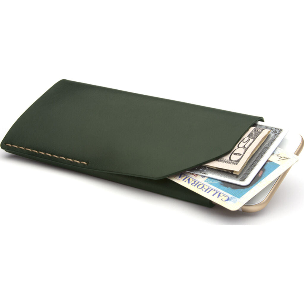 Ezra Arthur iPhone Wallet -Jet Top Stitch --CPW05