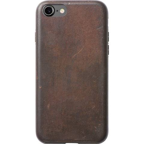 Nomad Case for iPhone 7 | Horween Brown Leather case-i7-brn