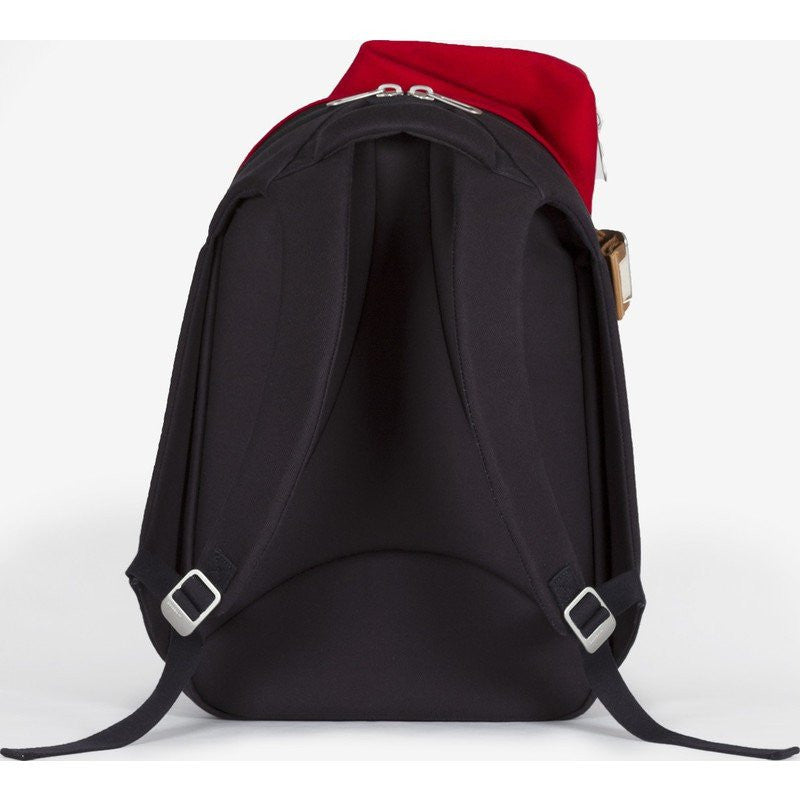 Cote et Ciel Isar Multi Touch Cargo Canvas Laptop Backpack | Ruby Red 28382