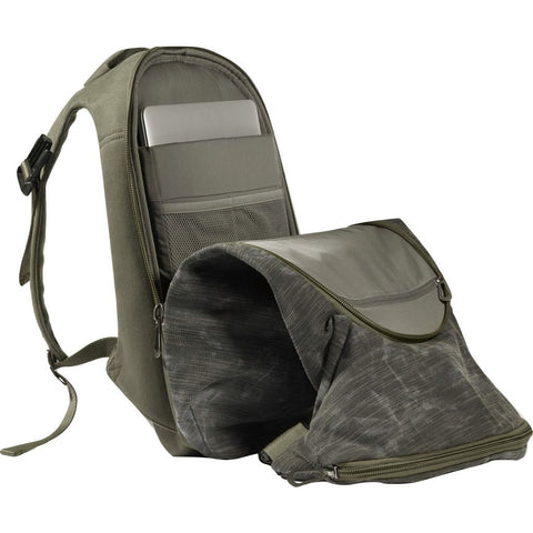 Cote et Ciel Nile Granite Canvas Backpack | Galena/Olive