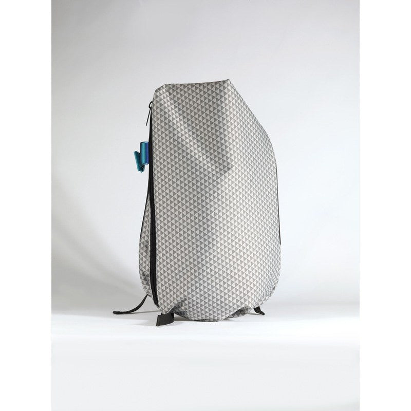 Cote et Ciel Isar Coral Eco Yarn Laptop Backpack | Optical Black/White