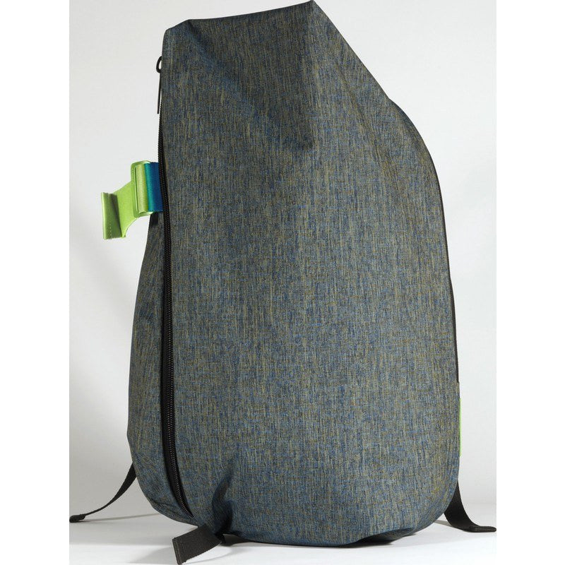 Cote et Ciel Isar Coral Eco Yarn Laptop Backpack | Petrol Blue 28061