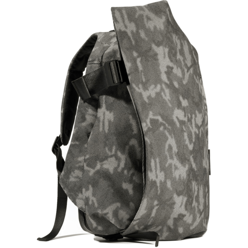 Cote et Ciel Isar Medium Eco Yarn Backpack | Stone Grey Crypsis