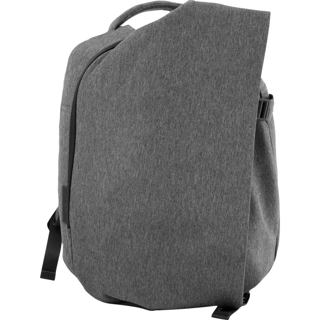 Cote&Ciel Isar Small Eco Yarn Backpack | Black Melange 28492