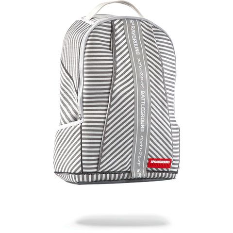 Sprayground Japan Stripe Backpack | White Knit DLX