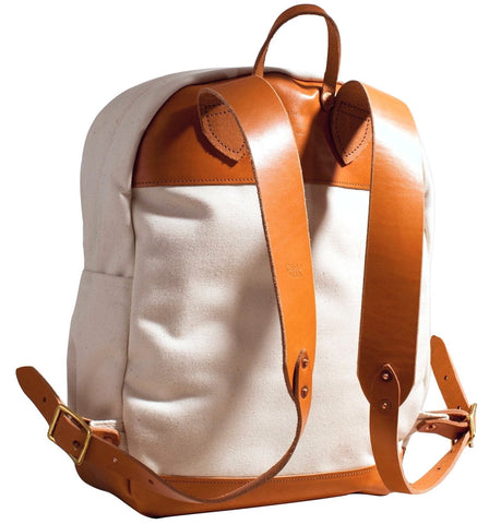 Joshu+Vela Zip Backpack | Natural JV0100-NATU
