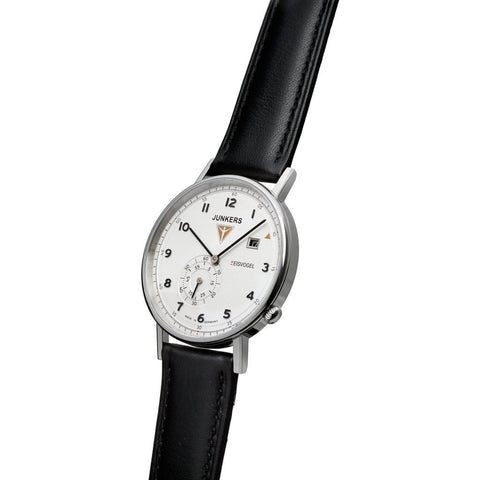 Junkers Eisvogel F13 Watch | White/Leather 6730-1