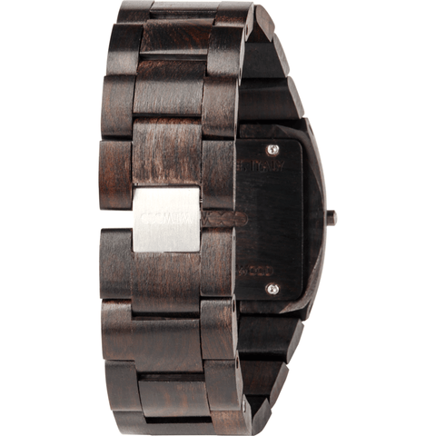 WeWood Jupiter Rs Black Wood Watch | Black Wjrsbl