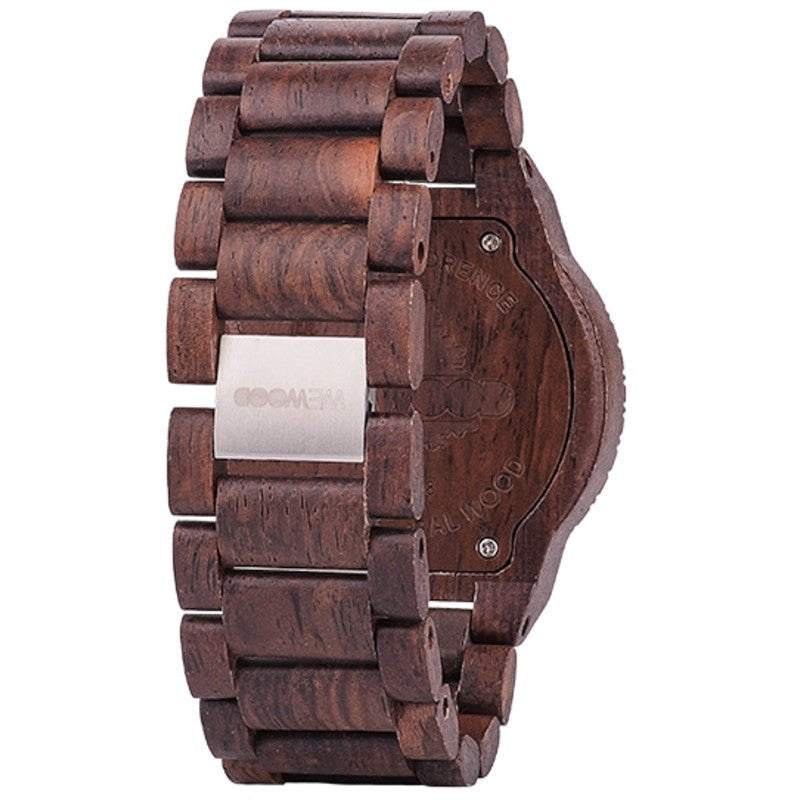 WeWood Kappa Indian Rosewood Wood Watch | Chocolate