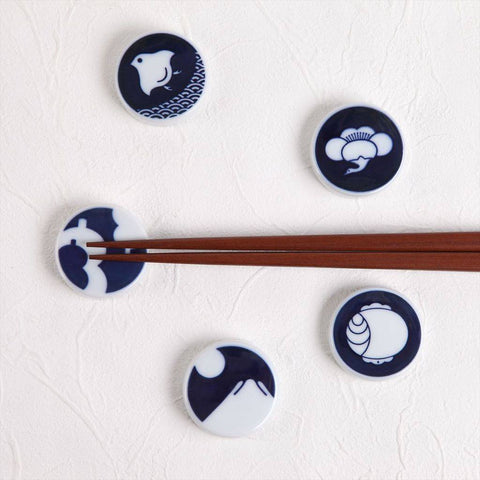 Kihara Chopstick Rests Set of 5-KI-setCR