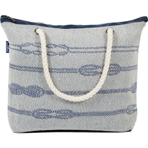 Faribault Nautical Cotton Structured Tote Bag | Knot