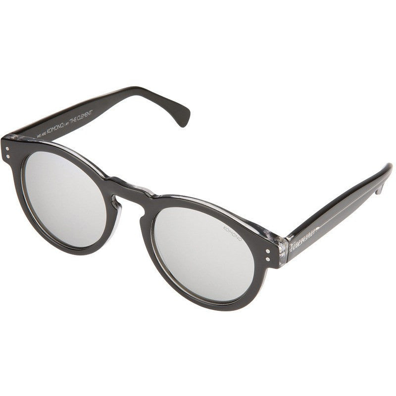 Komono Clement Sunglasses | Black Transparent KOM-S1660