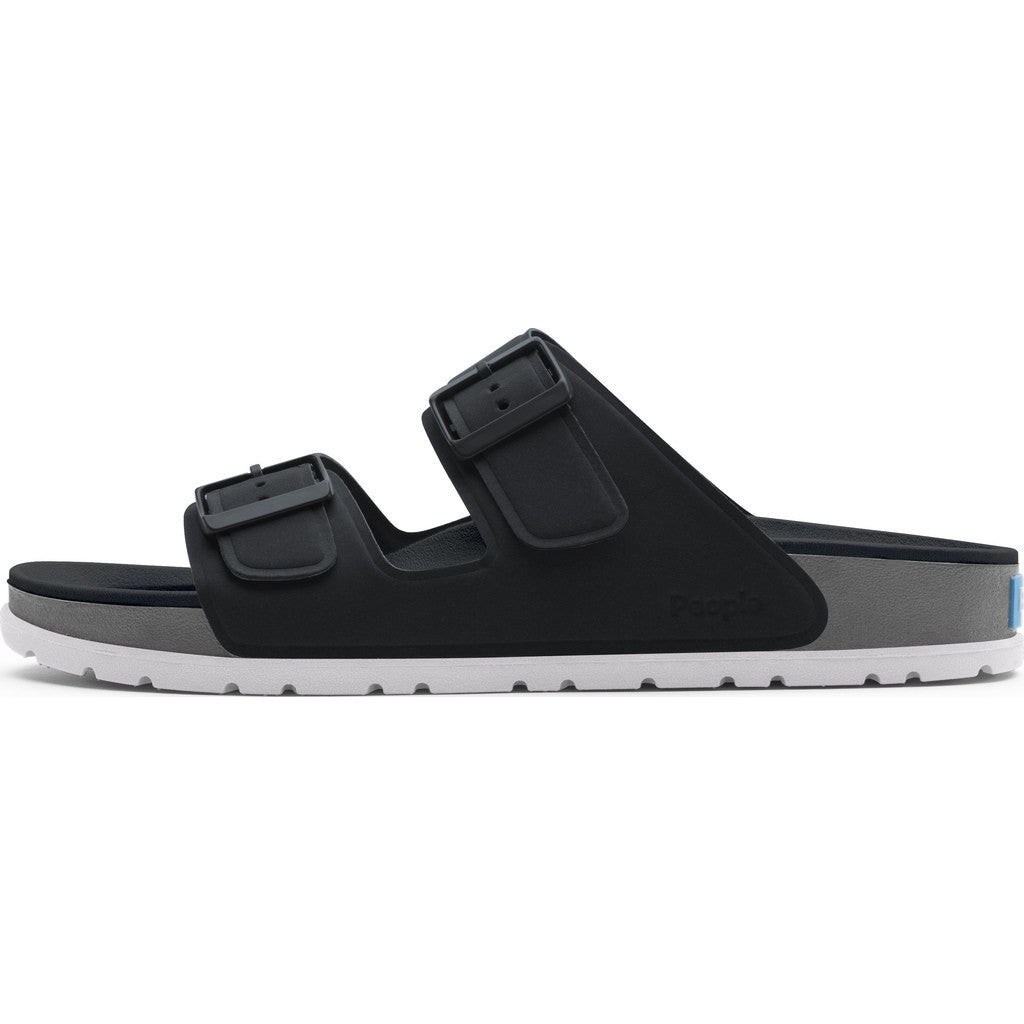 People Footwear Lennon Men's Sandals Really Black/Grey ...