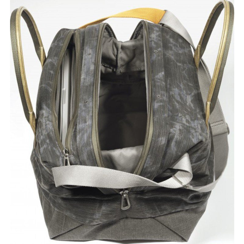 Cote et Ciel Loire Granite Canvas Laptop Backpack | Galena 28093