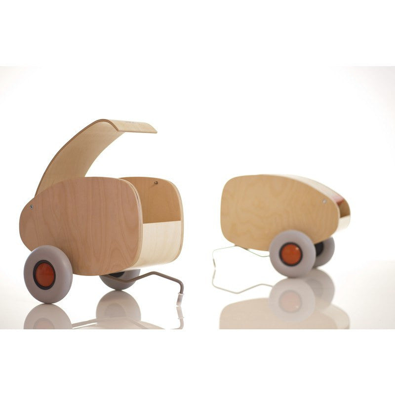sirch lorette push car trailer ages 2 sportique