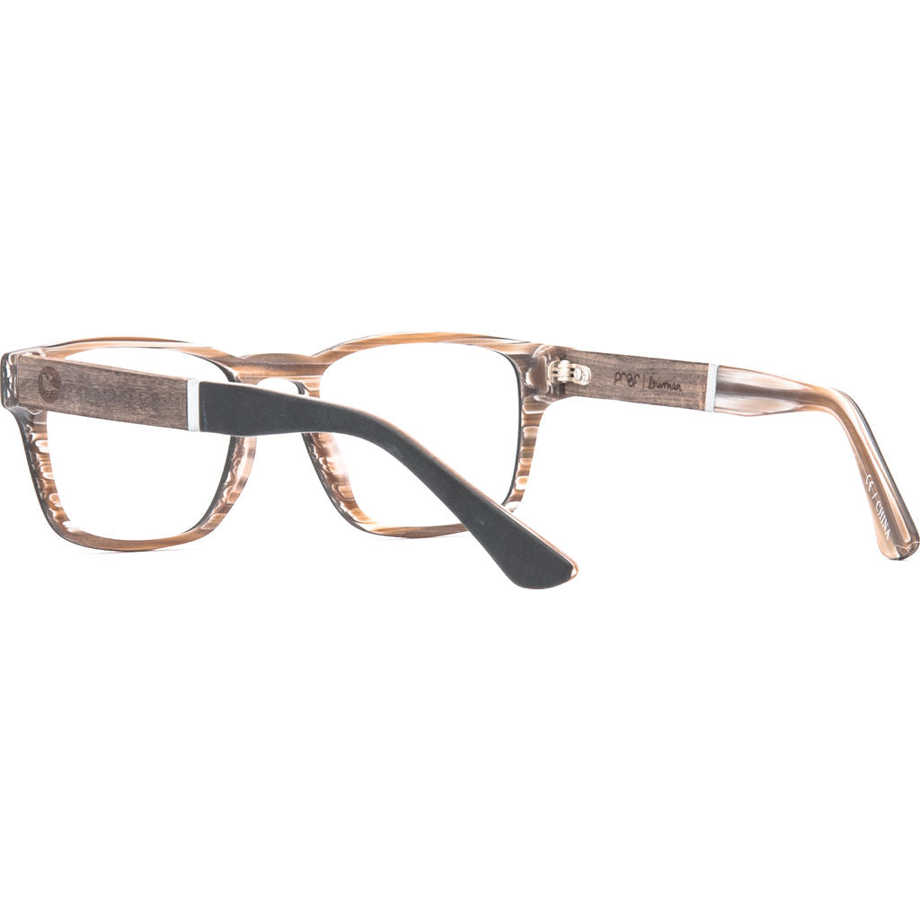 Proof Lowman Optical Glasses | Blackbone/Clear