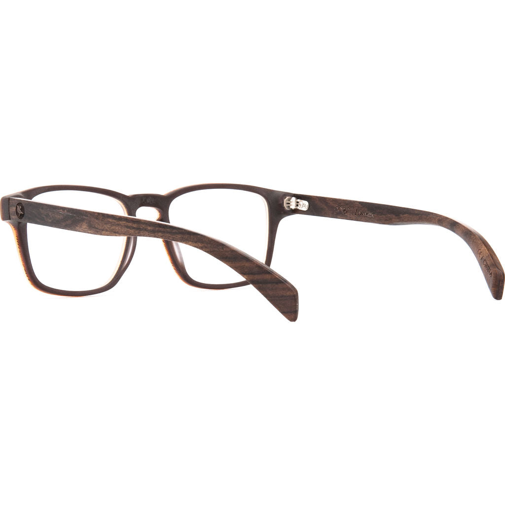 Proof Lowman Optical Glasses | Matte Brown Tortoise/Clear