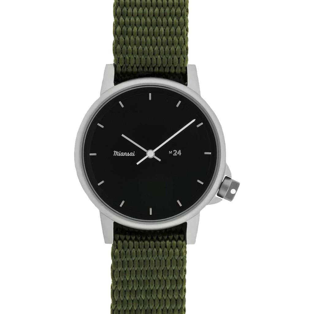 Miansai M24 II Black Watch | Hunter Nylon 107-0015-001