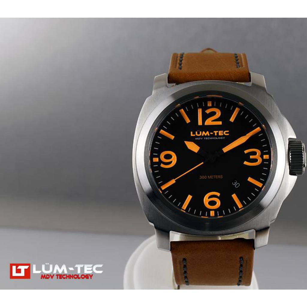 Lum-Tec M56 Watch | Leather Strap