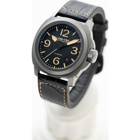 Lum-Tec M80 Automatic Watch-Leather Strap