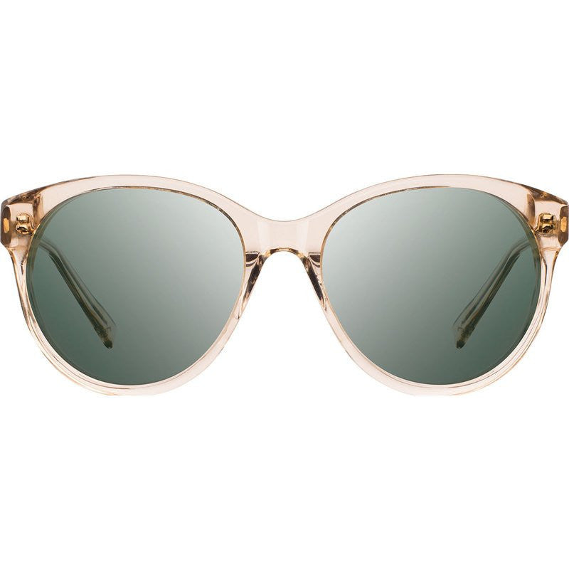 Shwood Madison Acetate Sunglasses | Champagne & Ebony / G15