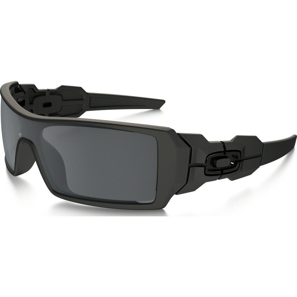 Oakley Lifestyle Oil Rig Matte Black Sunglasses | Black Iridium 03-464