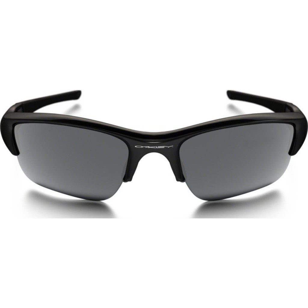 Oakley Sport Flak Jacket XLJ Jet Black Sunglasses | Black Iridium 03-916