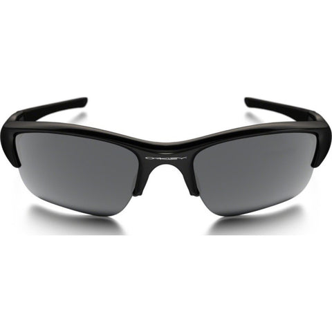Oakley Sport Flak Jacket XLJ Jet Black Sunglasses | Black Iridium 03-915