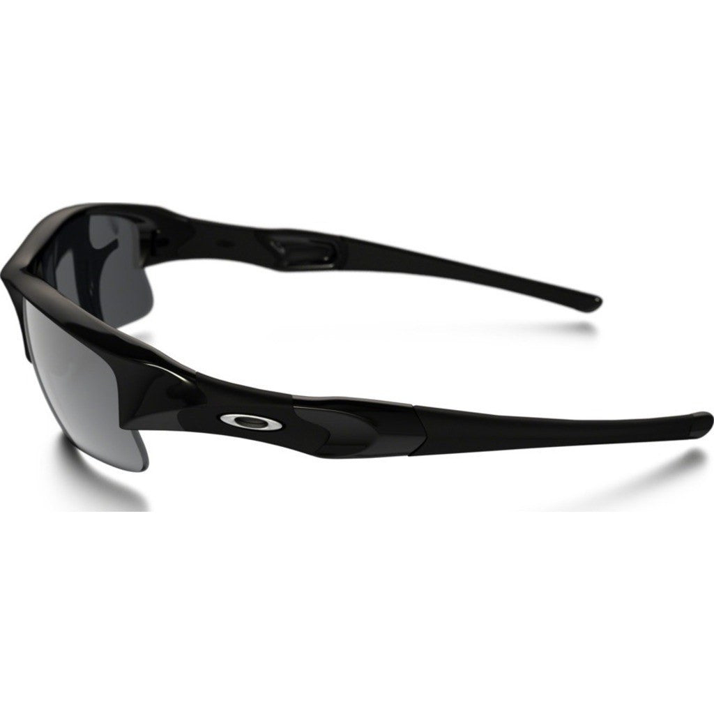 Oakley Sport Flak Jacket XLJ Jet Black Sunglasses | Black Iridium 03-918