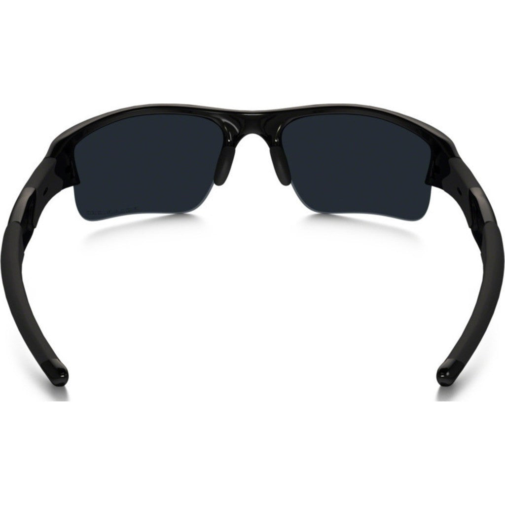 oakley flak jacket xlj polarised  oakley sport flak jacket xlj jet black sunglasses