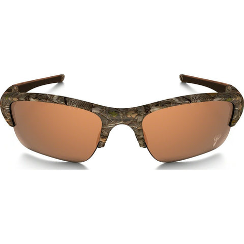 Oakley Sport Flak Jacket XLJ King's Woodland Camo Sunglasses | VR28 Black Iridium 24-153