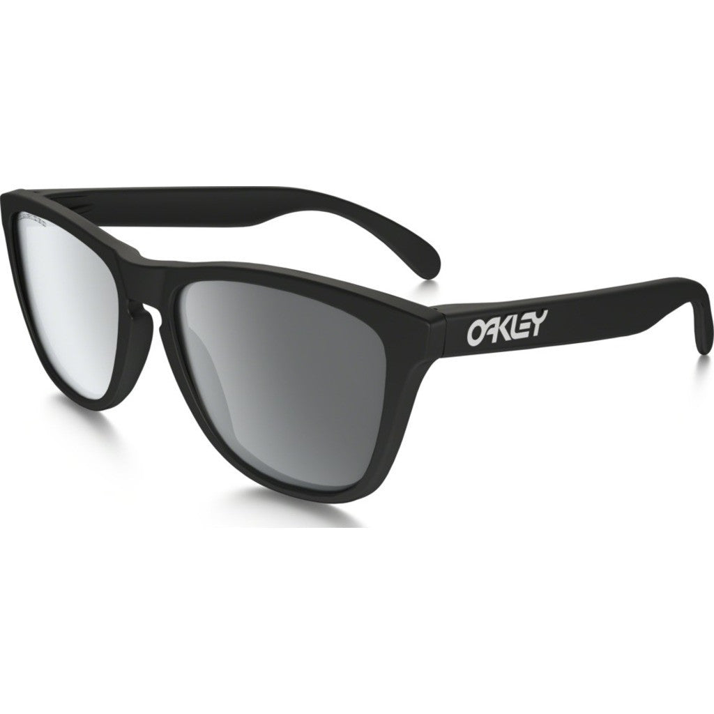 Oakley Frogskins Black Sunglasses Polarized 24-297