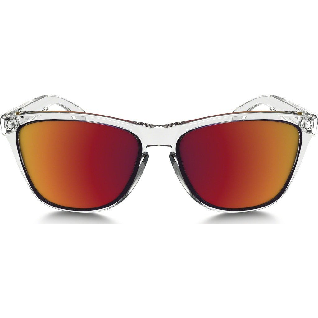 Oakley Lifestyle Frogskins Crystal Clear Sunglasses | Torch Iridium OO9013-A5