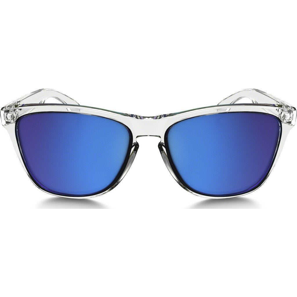 Oakley Lifestyle Frogskins Crystal Clear Sunglasses | Sapphire Iridium OO9013-A6
