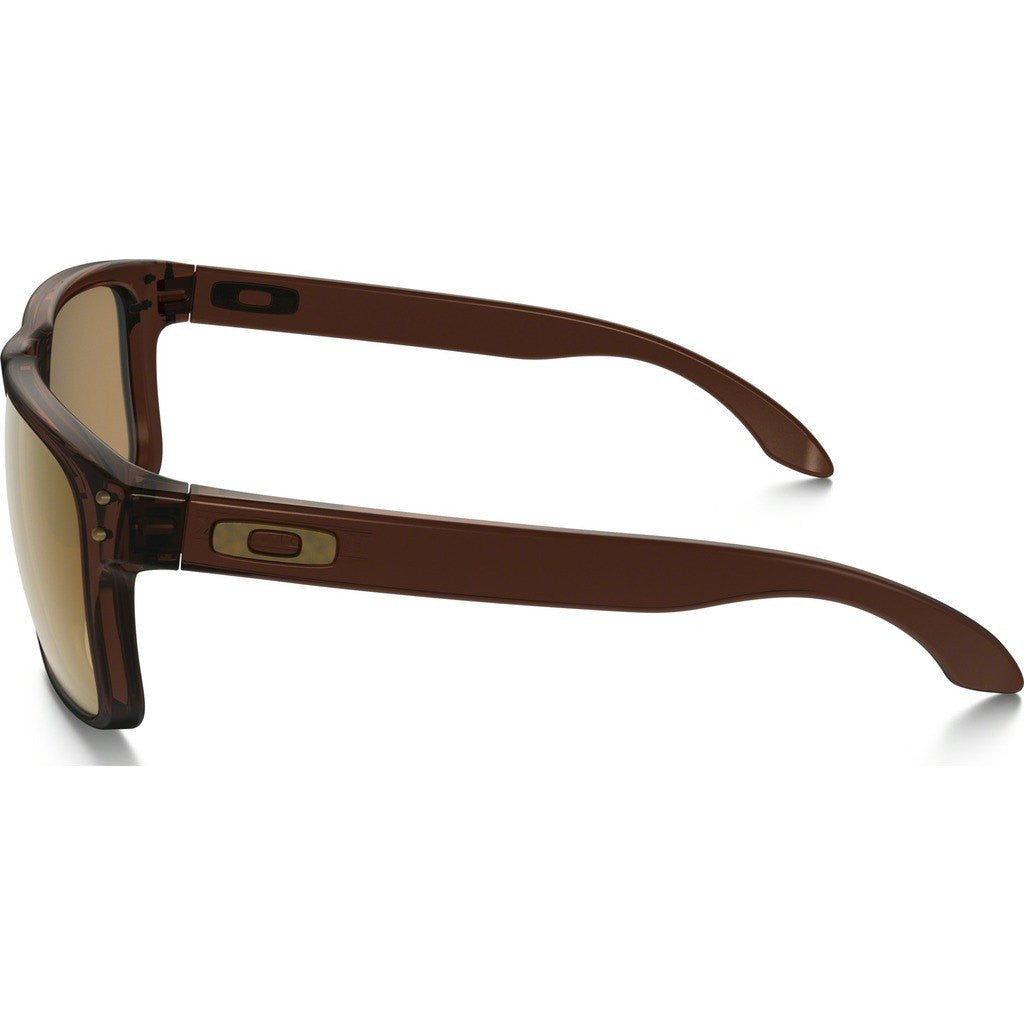 Oakley Lifestyle Holbrook Matte Root Beer Sunglasses | Bronze Polarized OO9102-03