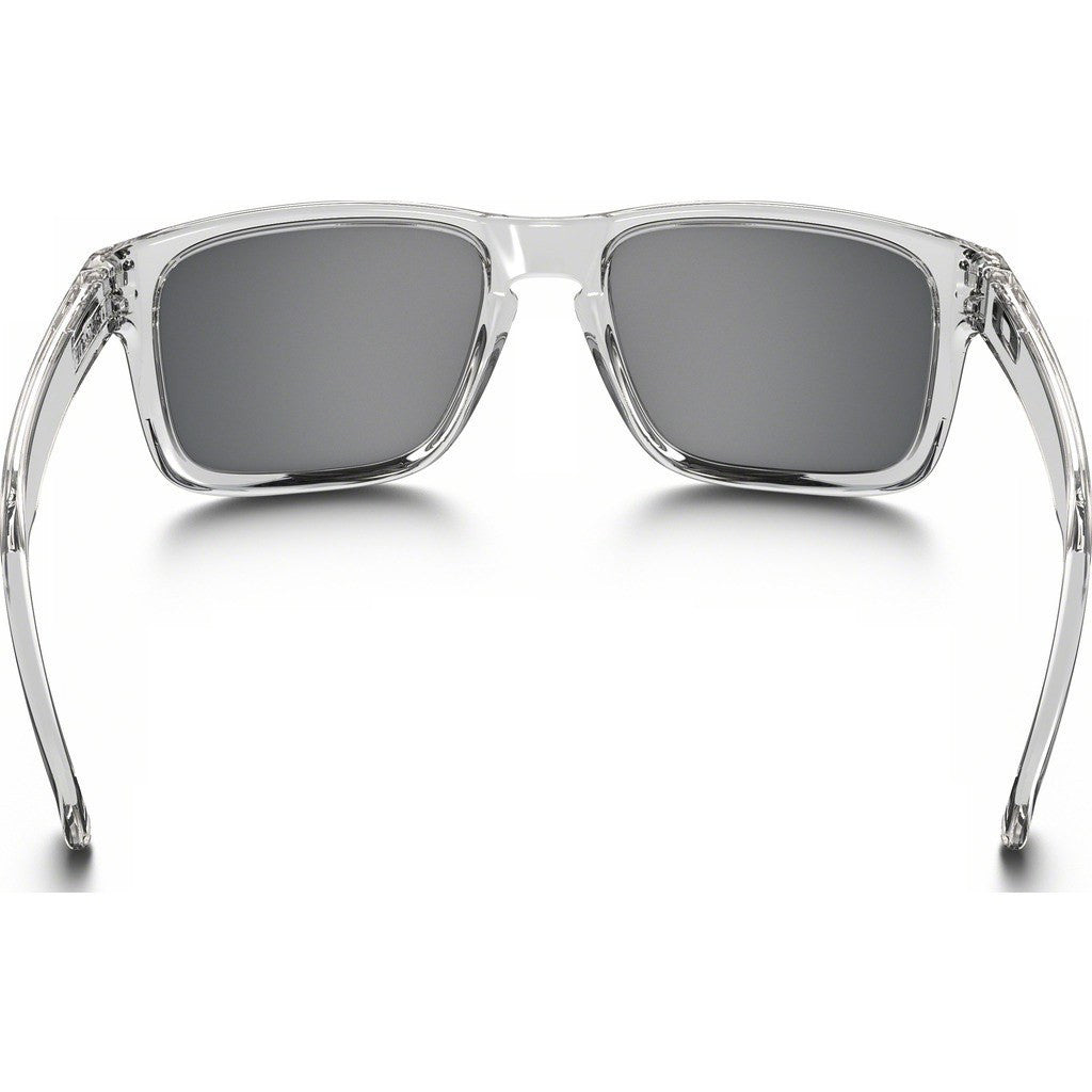 Oakley Lifestyle Holbrook Polished Clear Sunglasses | Chrome Iridium OO9102-08