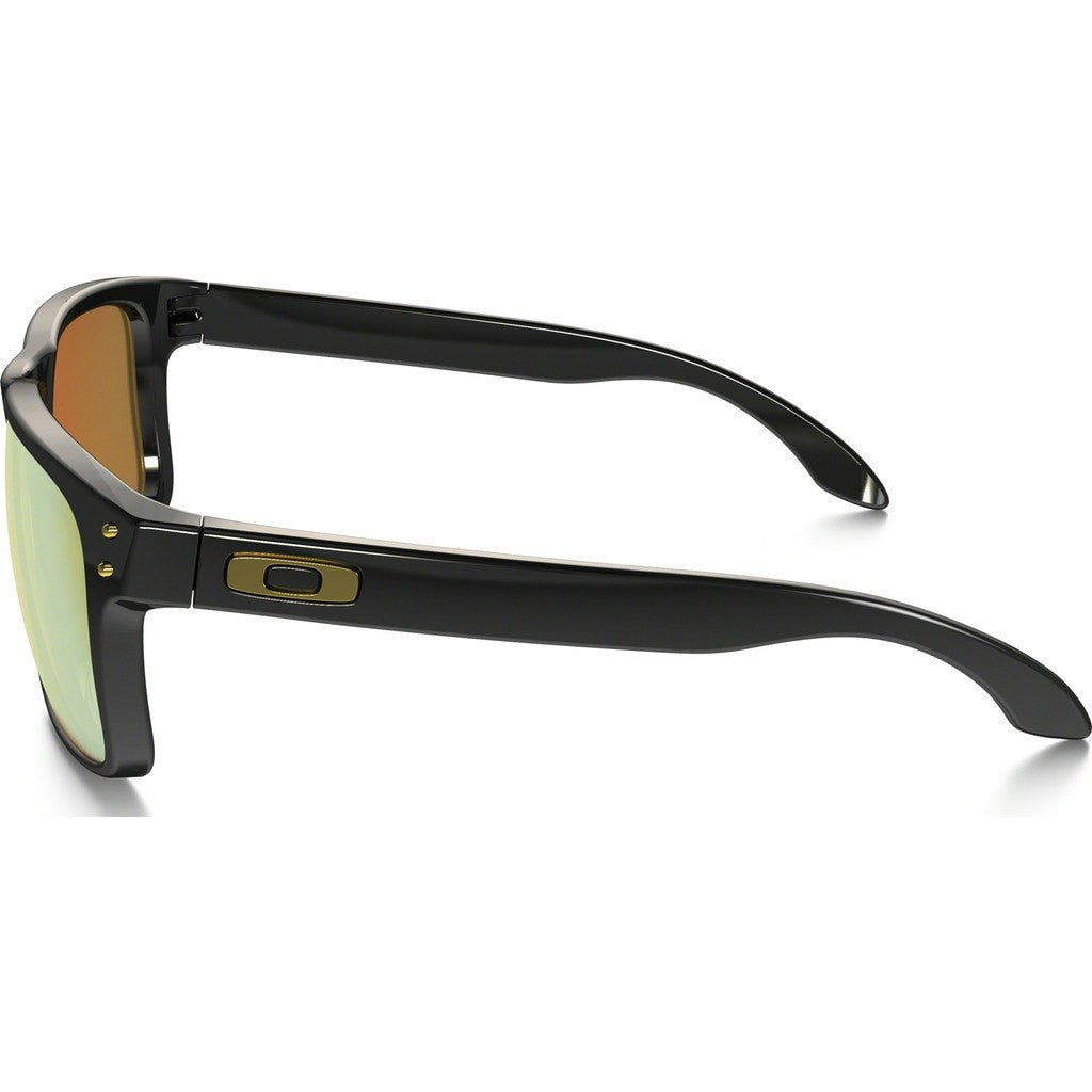 Oakley Lifestyle Holbrook Shaun White Polished Black Sunglasses | 24K Gold Iridium OO9102-08