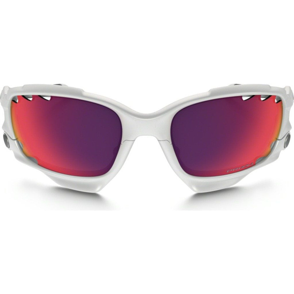 1cefec34a5ac6 Oakley Racing Jacket White Sunglasses Prizm OO9171-32 - Sportique