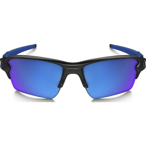 Oakley Sport Flak 2.0 XL Polished Black Sunglasses | Sapphire Iridium OO9188-23