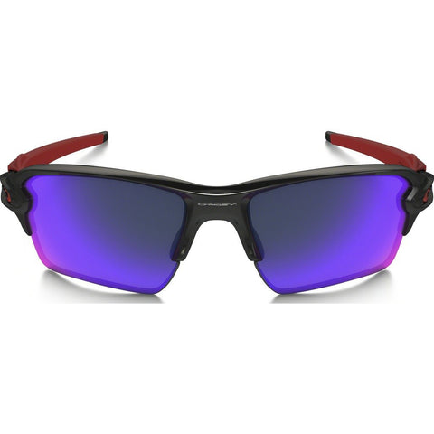 Oakley Sport Flak 2.0 XL Polished Black Sunglasses | Red Iridium OO9188-24