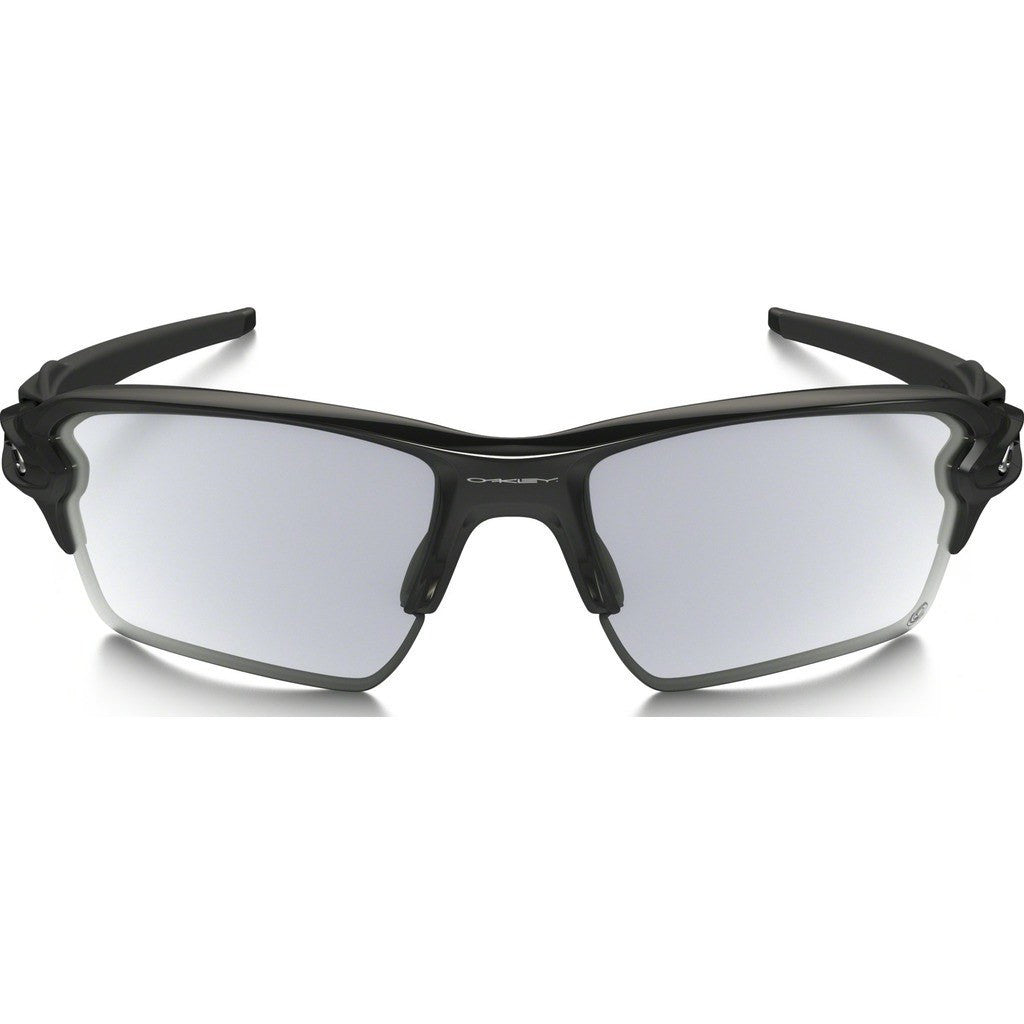 Oakley Sport Flak 2.0 XL Polished Black Sunglasses | Clear/Black Photo OO9188-50