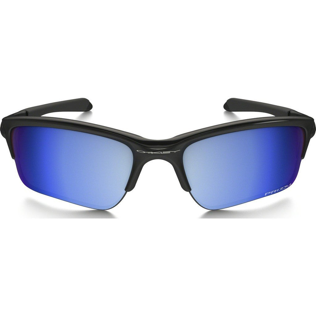 Oakley Sport Quarter Jacket Polished Black Sunglasses | Prizm Deep Water Polarized OO9200-16