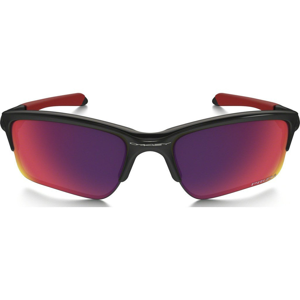 Oakley Sport Quarter Jacket Polished Black Sunglasses | Prizm Road OO9200-18